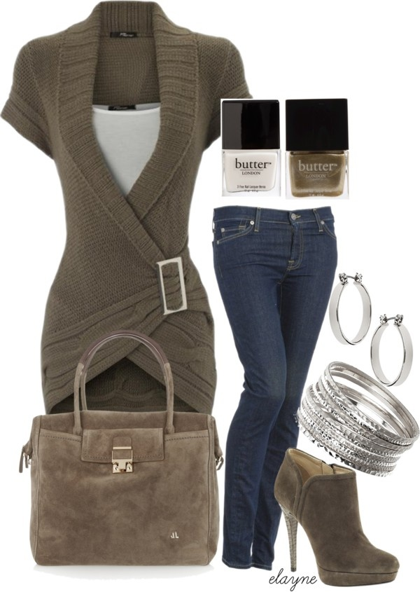"""""""Suede"""" by elayne-forgie ❤ liked on Polyvore...love this outfit, wish I wasnt so thick around the middle, I could never pull this off :("""