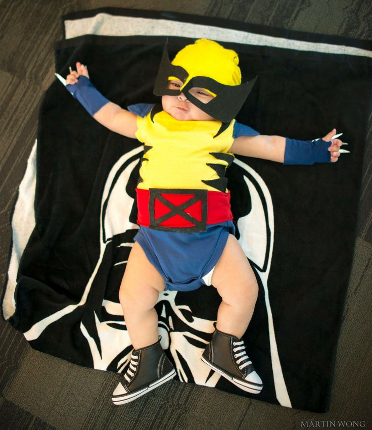 Baby Wolverine at BIG WOW! ComicFest 2014, Photo by Martin Wong