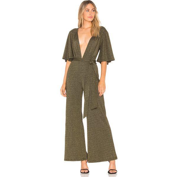 Cleobella Farrow Jumpsuit (13,435 DOP) ❤ liked on Polyvore featuring jumpsuits, rompers & jumpsuits, brown romper, cleobella, brown jumpsuit, playsuit jumpsuit and romper jumpsuit