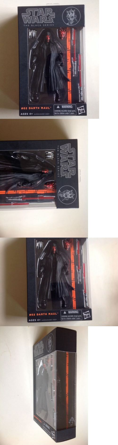 Toys And Games: Disney Hasbro Star Wars The Black Series 6 Inch #02 Darth Maul Authentic -> BUY IT NOW ONLY: $100 on eBay!