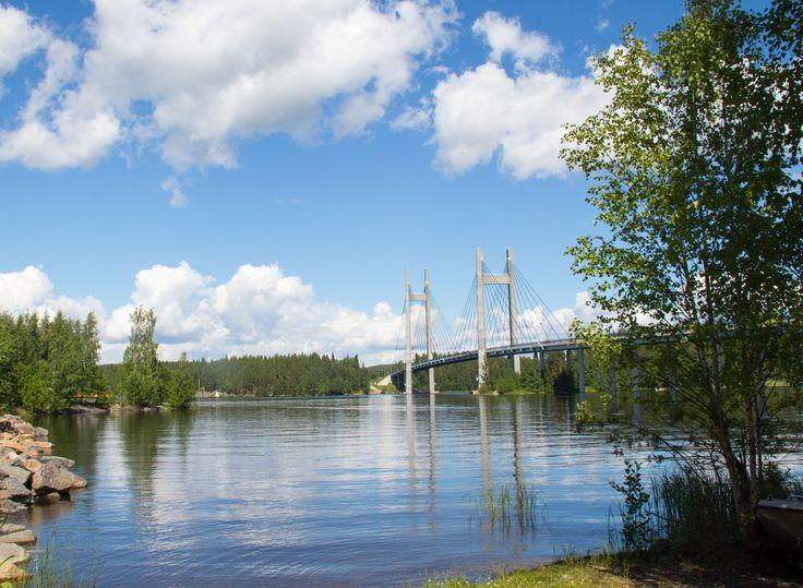 Kärkisten silta, Korpilahti