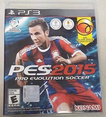 Pro Evolution Soccer 2015 PS3 PlayStation 3 PES FIFA 15 16 2016 2017 4 COMPLETE