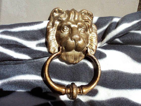Vintage Lion Door Knocker Aluminum Lions Head Door Old Home Decor Retro  Lions The 25 Best Lion Ideas On Pinterest Knockers