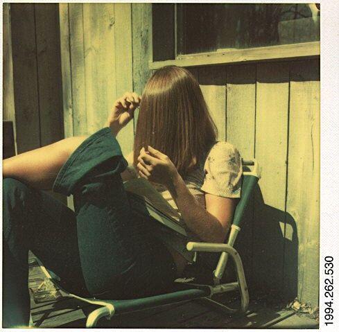 walker Evans , portrait , polaroid ,70's