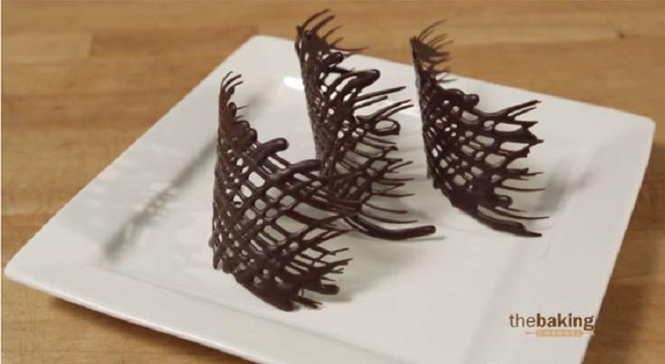 Comment faire facilement des décorations en chocolat! 6 motifs! 6 trucs!