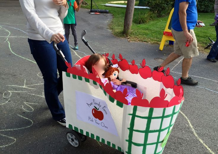diy stroller halloween costume for stroller parade great for a toddler infant or family costume it was so easy to do and so much fun - Raving Rabbids Halloween Costume
