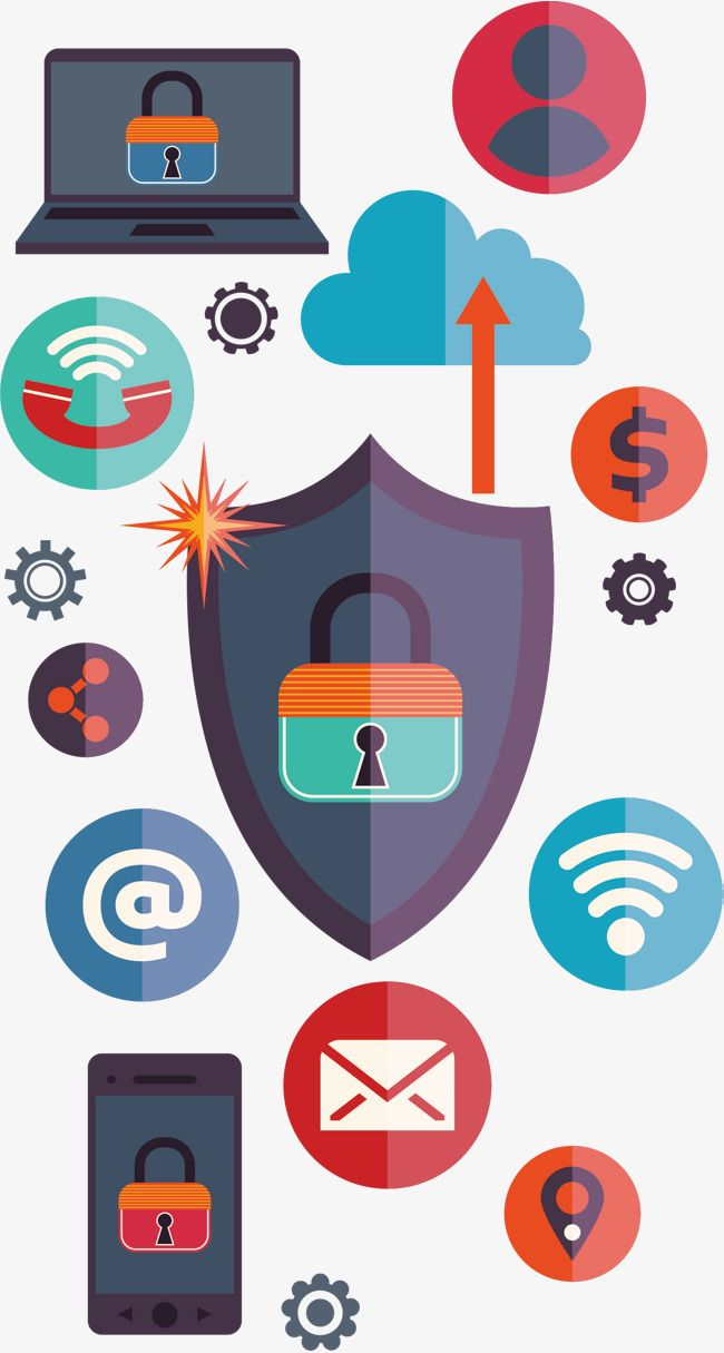 Internet Information Security Poster Png And Vector Poster Sign Art Art Projects