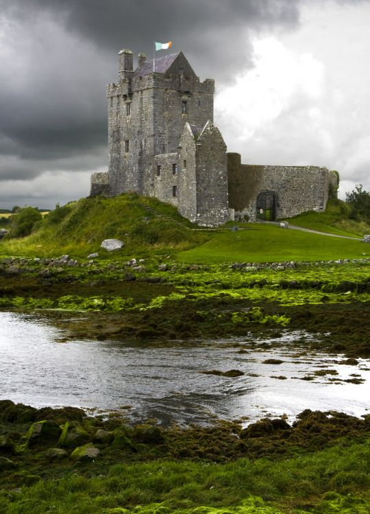 Dunguaire Castle, Galway, Ireland, 16th century tower house