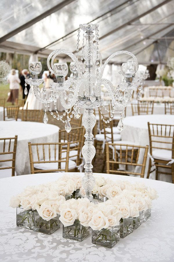 vintage chandelier centerpiece reception wedding flowers,  wedding decor, wedding flower centerpiece, wedding flower arrangement, add pic source on comment and we will update it. www.myfloweraffair.com can create this beautiful wedding flower look.