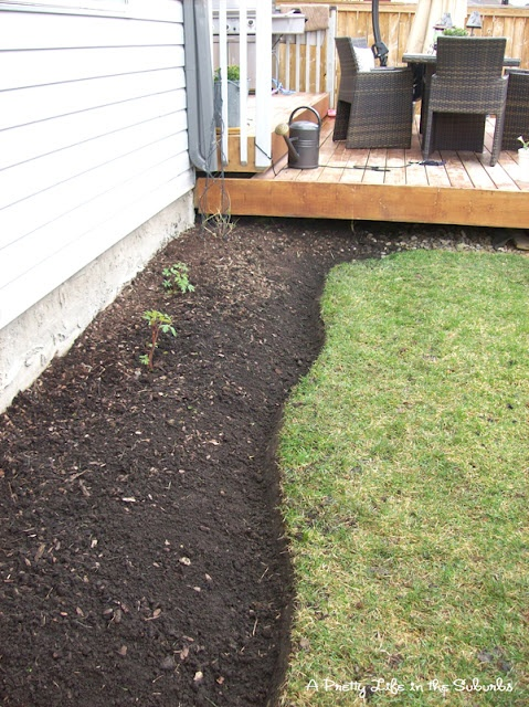 Above Ground Garden Edging