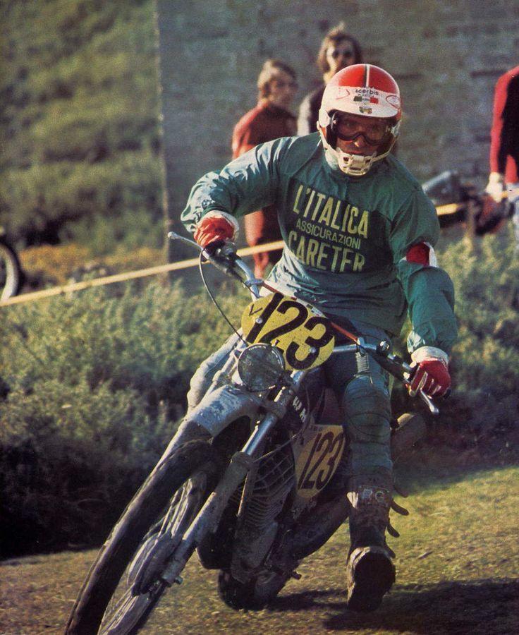 IOM Six Days 1975 - Pier Luigi Rottigni 125 SWM