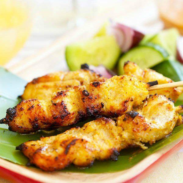 Chicken Satay   Easy Delicious Recipes