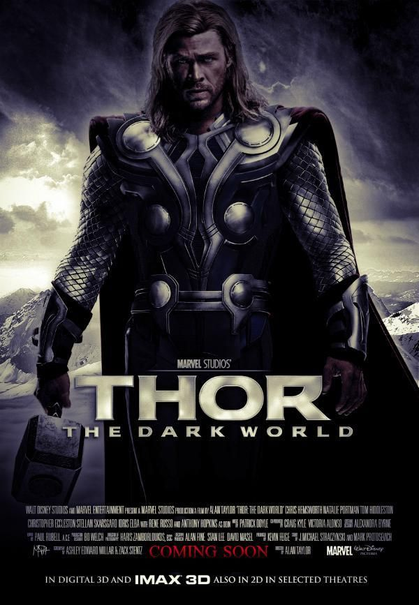 The Dark World Thor 2 | THOR: THE DARK WORLD Posters and Trailer Description; Definitely ...