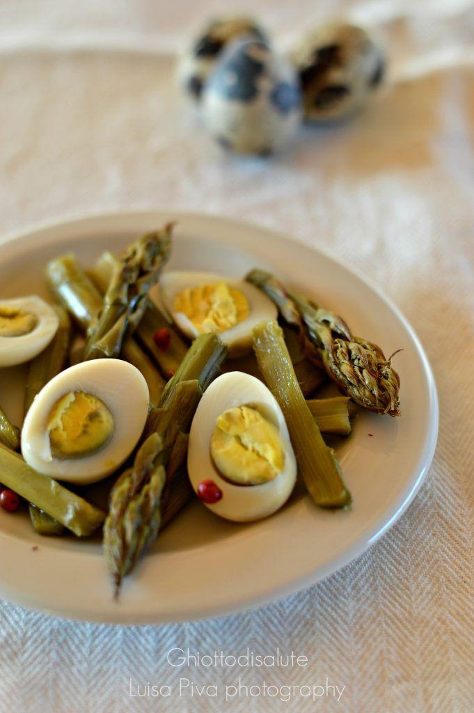 Quail's eggs & Asparagus: tutto al vapore! | Ghiotto di Salute