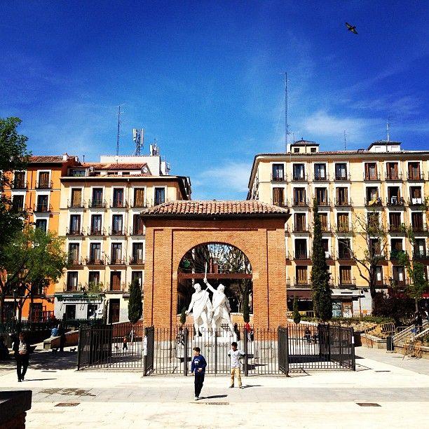 Plaza del Dos de Mayo in Madrid, Madrid