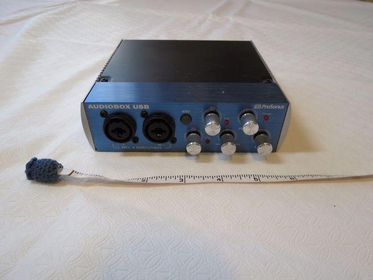 PreSonus AudioBox USB Digital Recording Interface system Audio Box Pre Sonus  #PreSonus