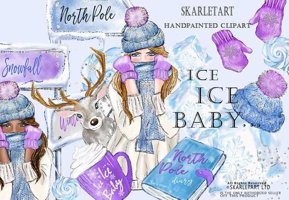 Winter Sticker Ice Baby