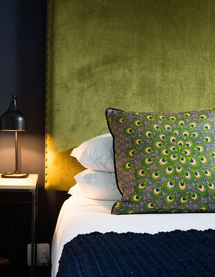 Vert : La Preuve Que Le Vert Est La Couleur De Lu0027année 2017   Elle  Décoration. Green Bedroom ...