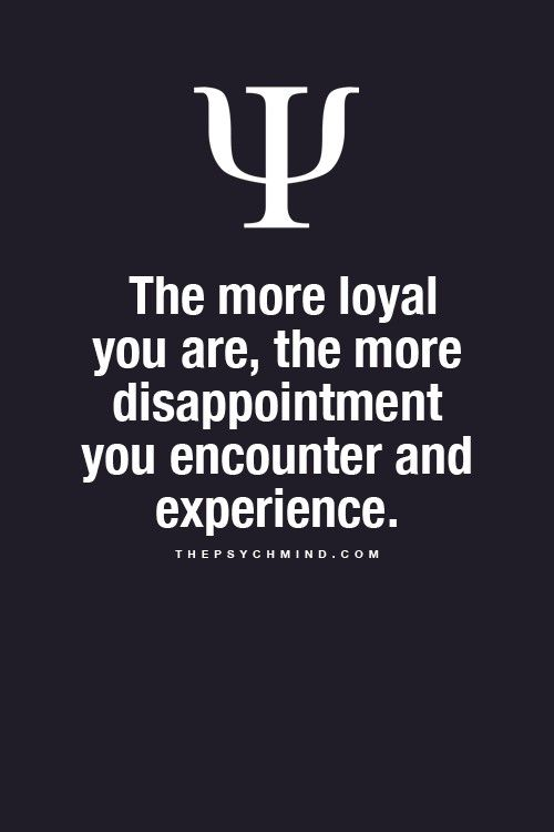 The downside of loyalty......and I found this out the hard way recently. Overtime galore to try and help, over exhaust myself for it to all be thrown back in my face