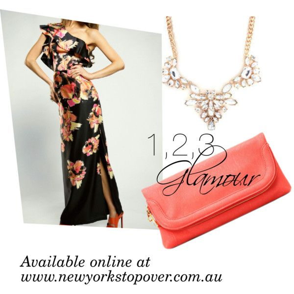 """""""Floral Maxi"""" by intelligentbeauty-australia on Polyvore"""