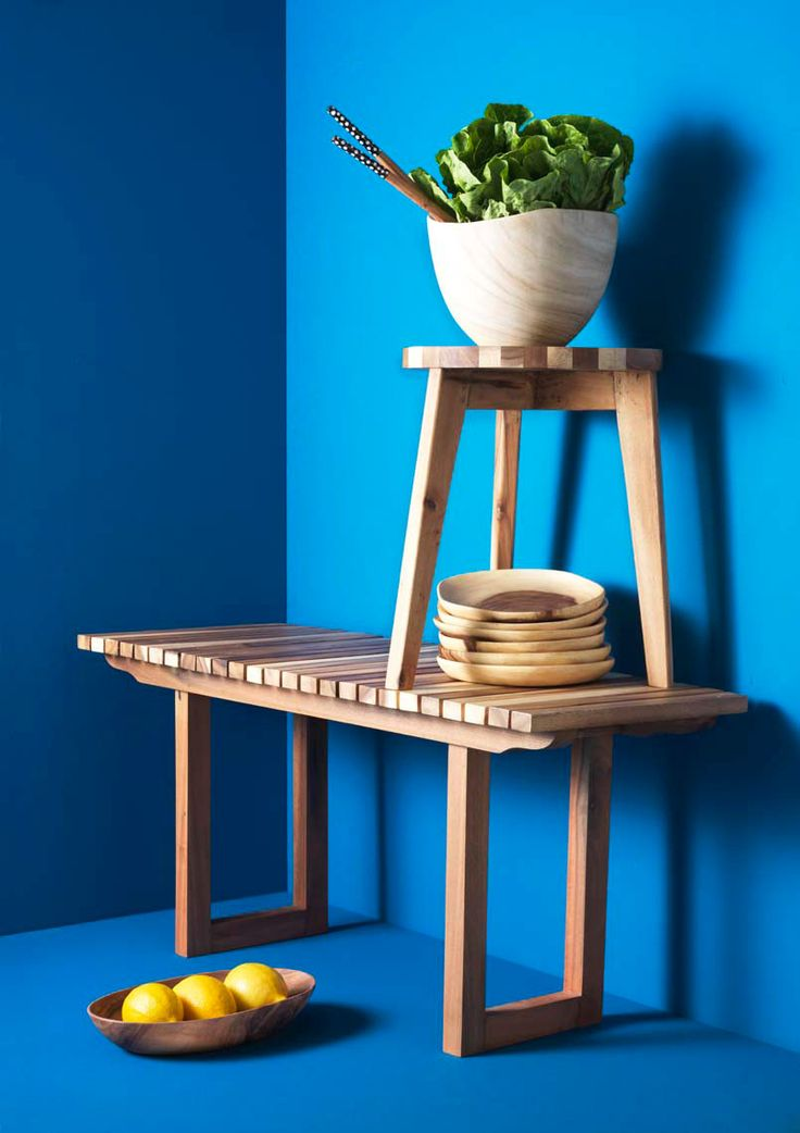 Photography by Frank Brandwijk I 'Kinta Table' 'On Blue'