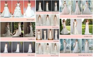 If you're looking for an affordable wedding dress, check out these Affordable Wedding Dress Designers featuring Wedding Dresses under $2,000.: Affordable Wedding Dress DesignersCasablanca BridalAlfred Angelo's Disney Fairy Tale Bridal CollectionCelia GraceDavid's BridalJasmine BridalWtoo by WattersWillowby by WattersGrace Loves LaceDavid Tutera for Mon CheriCamille La VieEnchanting by Mon Cheri