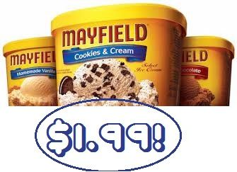 Mayfield Ice Cream Coupon