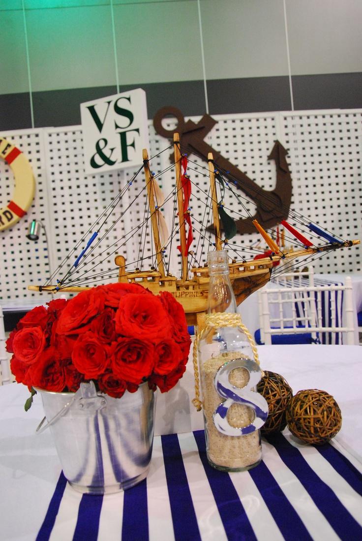 nautical table centerpiece
