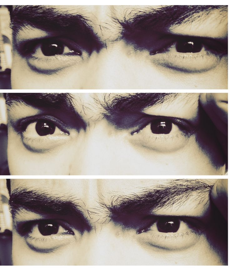Eyes emotion