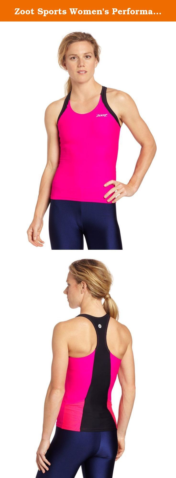 Zoot Sports Women's Performance Tri Racerback Top. By design races are long and hard. And, by design, Zoot's triathlon apparel keeps you supported through all of it.