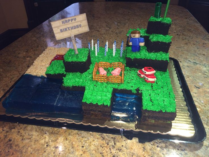 7 Best Minecraft Images On Pinterest Homemade Minecraft Cakes