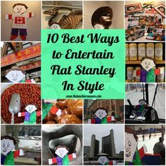 The Ten Best Ways to Entertain Flat Stanley in Style