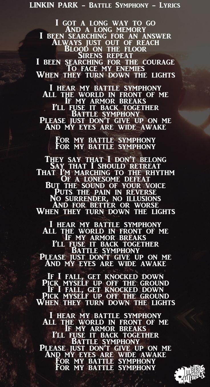 Lyrics to light