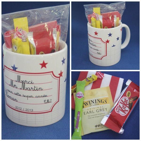 Cadeau personnalisable pour les maîtres d'école !