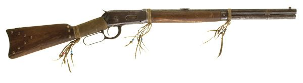 Tack Decorated Winchester Rifle Model 1894 SRC, (2006, Spring Americana, May 10, 11 & 12)