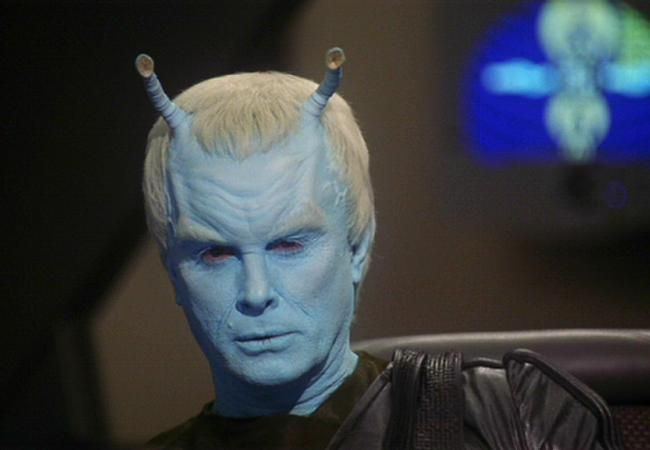 Thy'lek Shran as played by the awesome Jeffrey Combs - Star Trek: Enterprise