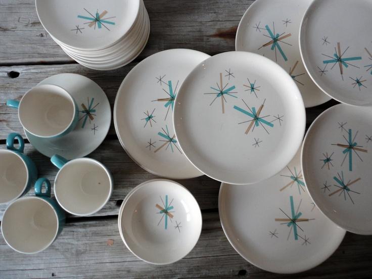 214 best Atomic Dishware images on Pinterest | Vintage kitchen ... 214 Best Atomic Dishware Images On Pinterest Vintage Kitchen & Amazing Atomic Dishes Pictures - Best Image Engine - maxledpro.com