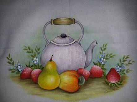 Resultado de imagem para pinturas em bules e chaleiras