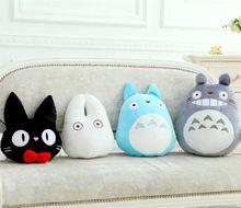 Sevimli karikatür totoro karikatür peluş bebek, çocuk oyuncak bebek, dolum ve peluş oyuncaklar, Doldurulmuş Oyuncaklar-Peluş Hayvanlar(China (Mainland))