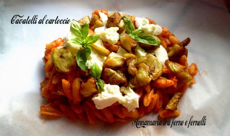 I Cavatelli al cartoccio sono un primo piatto molto semplice da preparare e davvero di molto effetto, piaceranno di sicuro ai vostri commensali.