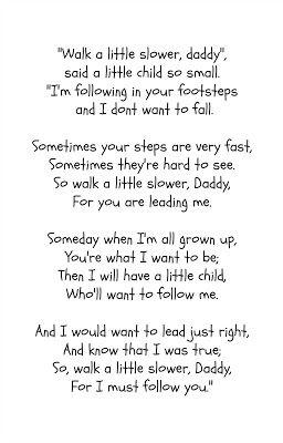 Father's Day Poem + Printable | R & R Workshop #giftidea #poem #fathersday