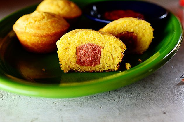 Corn Dog Muffins. If you've got kids in your house, you've probably made 'em!
