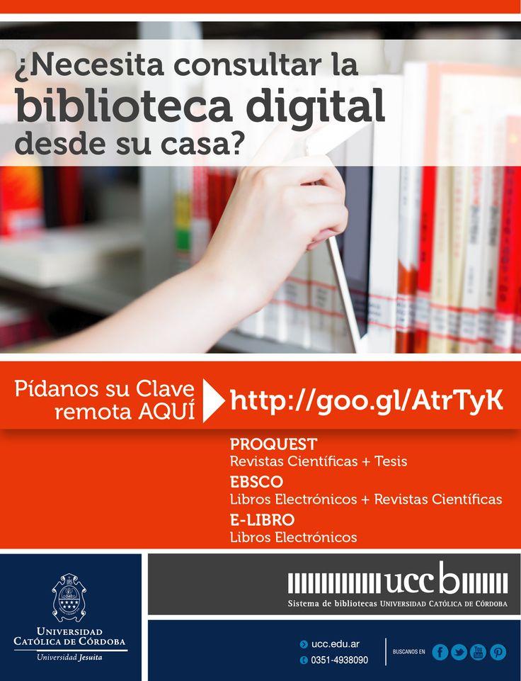 #BibliotecaDigital #Biblioteca #BasesDeDatos #UCC