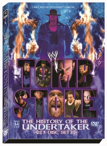 wwe tombstone the history of the undertaker dvd mark calaway http