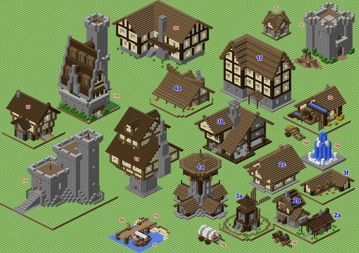 Medieval Village (WIP) by spasquini.deviantart.com on @DeviantArt