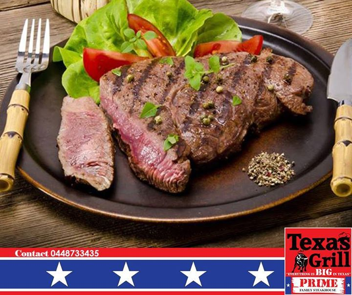 Got no plans for dinner? Texas Grill is just the place to relax with the family on a Wednesday night. Remember 2 children can eat free with every dining adult, so lets see you here tonight! #grill #dinner #steakhouse