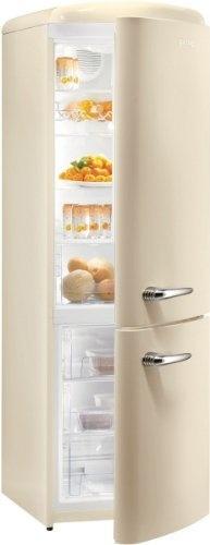 Gorenje RK60359OC Retro Style Freestanding Fridge Freezer in Cream - A++ energy rating, 60cm wide, 188cm height, 64cm depth by Gorenje, B0098JMKLG---See more at http://www.modern-kitchen.commissionblast.com