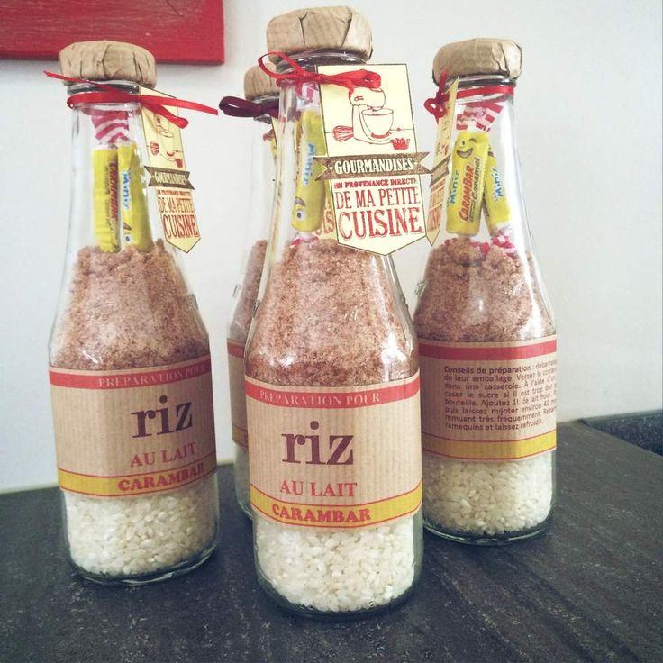 1000 id es sur le th me bouteilles de lait sur pinterest bouteille pots mason et pots - Riz au lait maison ...
