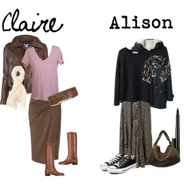 """""""The Breakfast Club: Claire and Alison"""""""