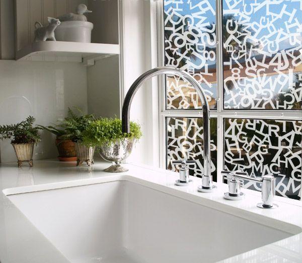 Les 36 meilleures images propos de stickers d poli for Decoration vitres fenetres